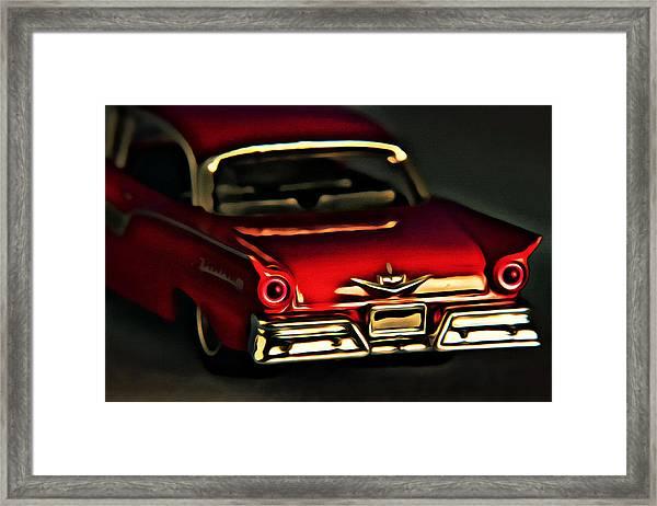 Fairlane 500 Framed Print