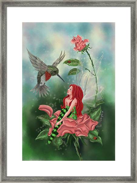 Fairy Dust Framed Print