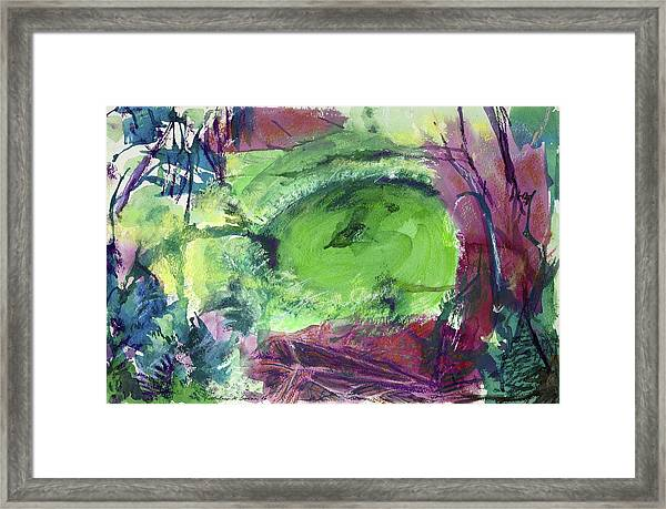 Fairy Ring, Lasso Forest Framed Print