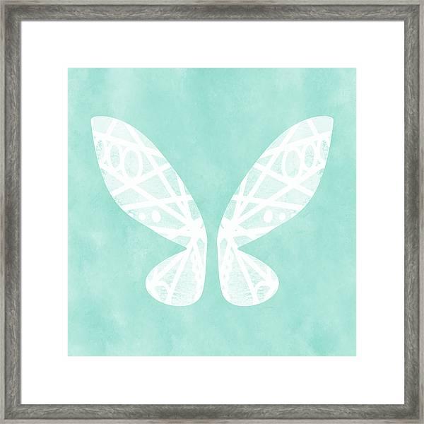 Fairy Wings- Art By Linda Woods Framed Print