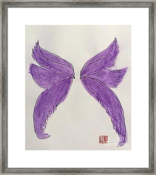 Fairy Wings For Sale Framed Print