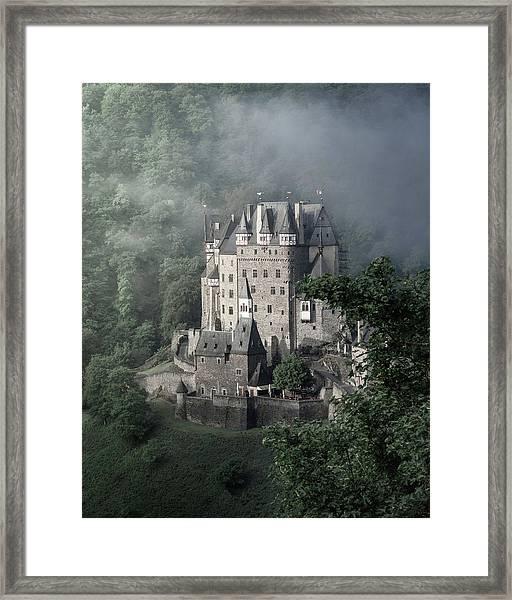 Fairytale Castle In Germany Framed Print