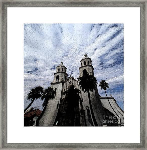 Faith Arizona Framed Print