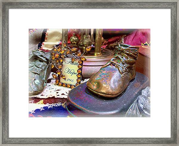 Faith Hope Love 2 Framed Print