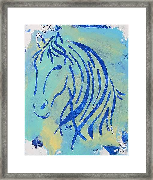 Framed Print featuring the painting Faith by Candace Shrope