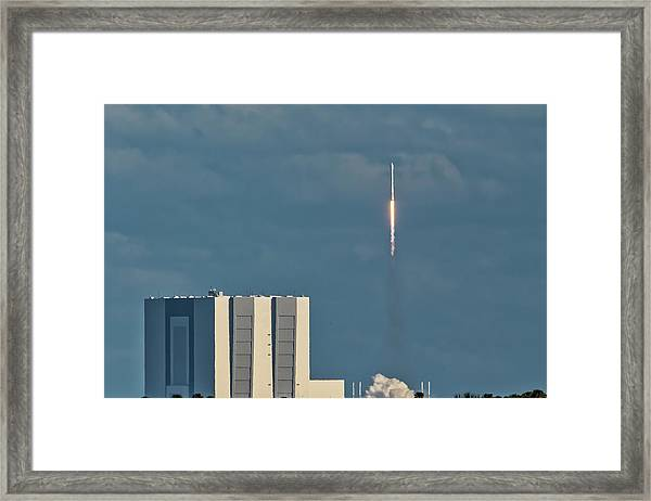 Falcon 9 Launch Framed Print