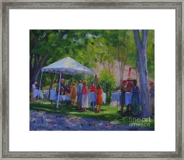Falkner Winery Framed Print