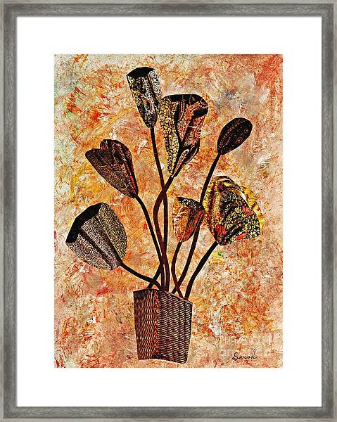 Fall Bouquet Framed Print