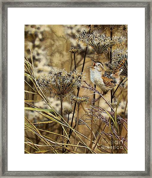 Fall Call Framed Print