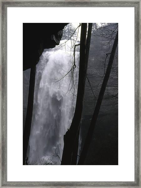 Fall Creek Falls Tn Framed Print