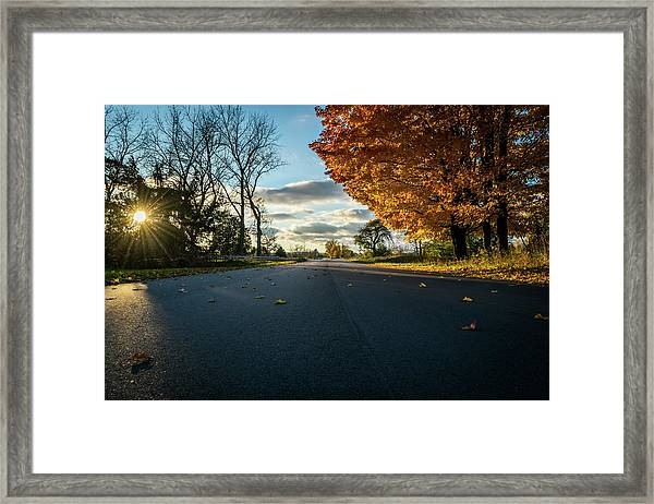 Fall Day Framed Print