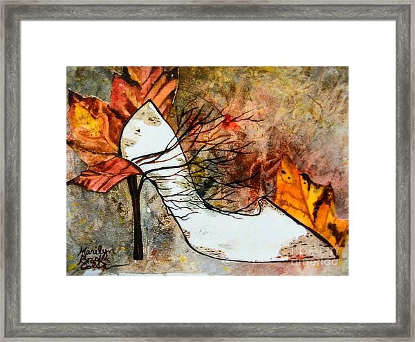 Fall In Art Framed Print