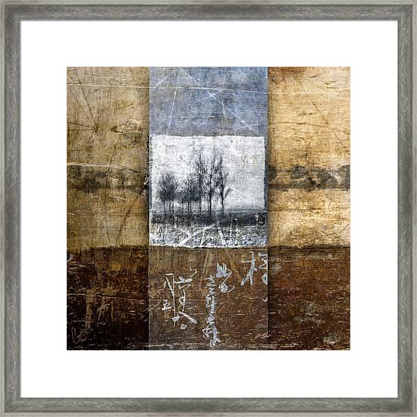 Fall Into Winter Framed Print