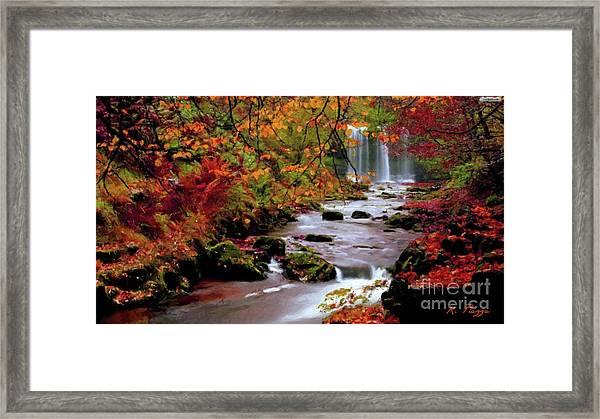 Fall It's Here Framed Print