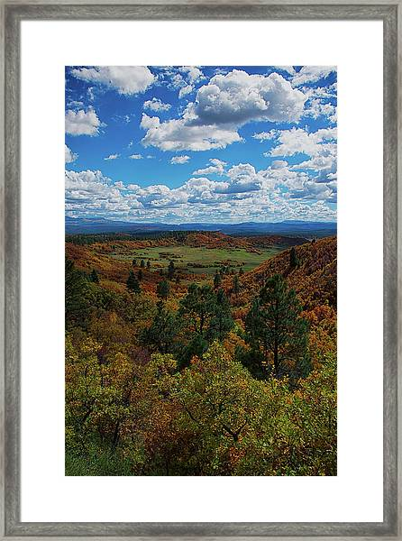 Framed Print featuring the photograph Fall On Four Mile Road by Jason Coward