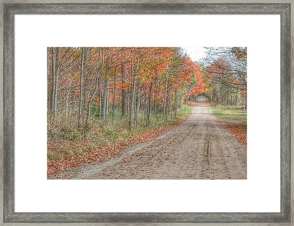 9018 - Fall On Murphy Lake Iv Framed Print