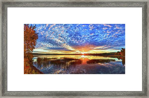 The Universe Listens Framed Print