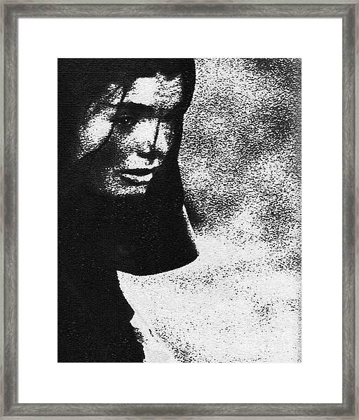 Fallen Love Framed Print