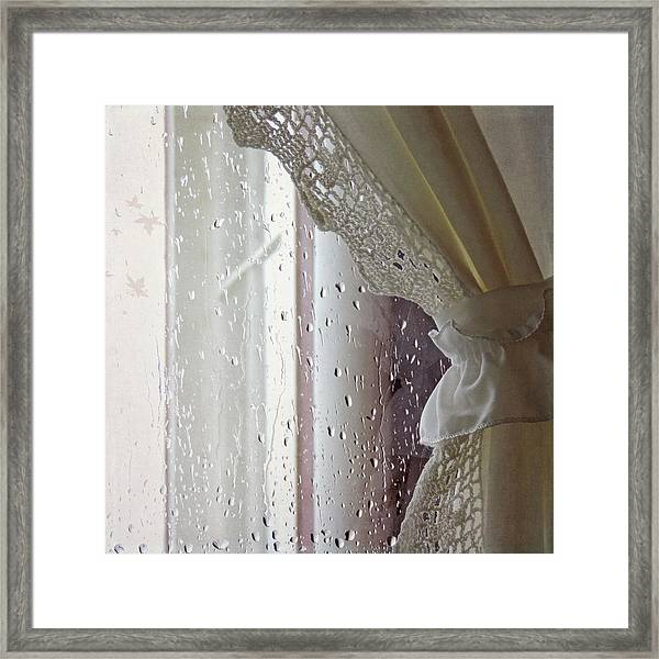 A Falling Day Framed Print