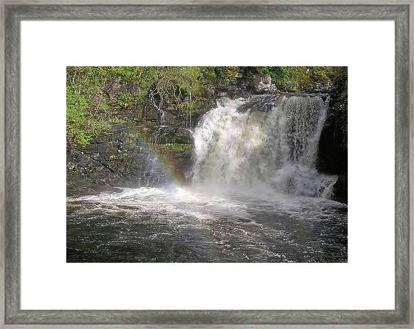 Falloch Rainbow Framed Print