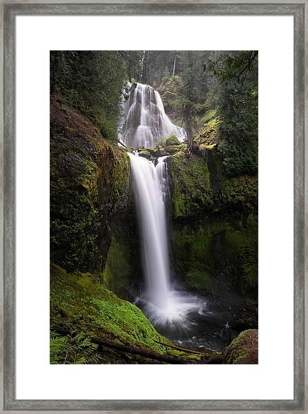 Falls Creek Falls Framed Print