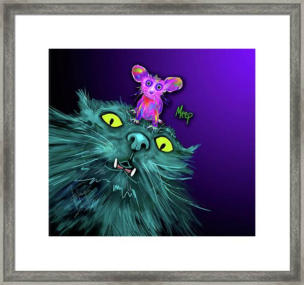 Fang And Meep  Framed Print