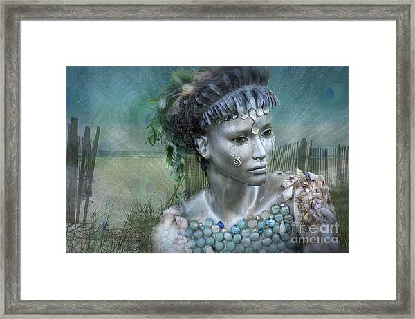 Mermaiden Fantasea Framed Print