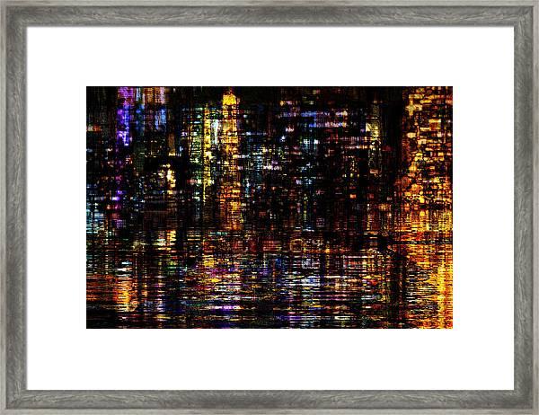 Fantastic Evening  Framed Print