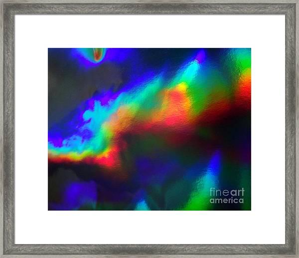 Heavenly Lights Framed Print