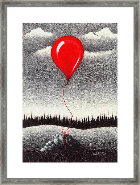 Fantasy And Reality Framed Print