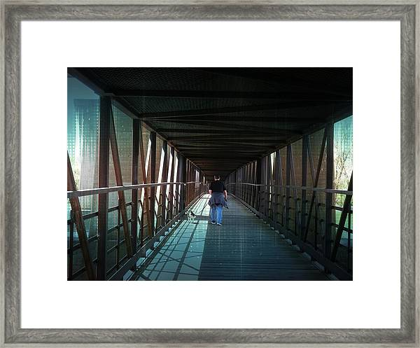 Fantasy Bridge Framed Print