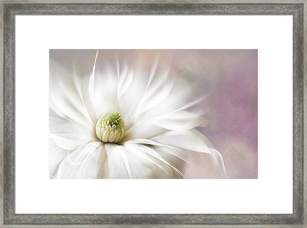 Fantasy Flower Framed Print