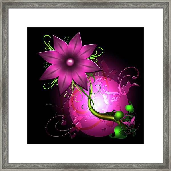 Fantasy World Framed Print