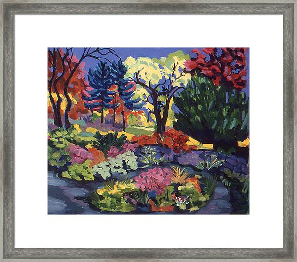 Far Country Entrance Framed Print by Doris  Lane Grey
