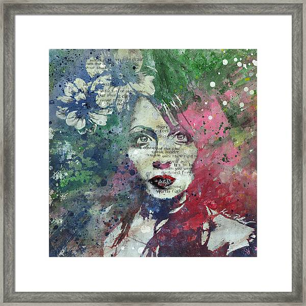 Farewell, Mona Lisa Framed Print