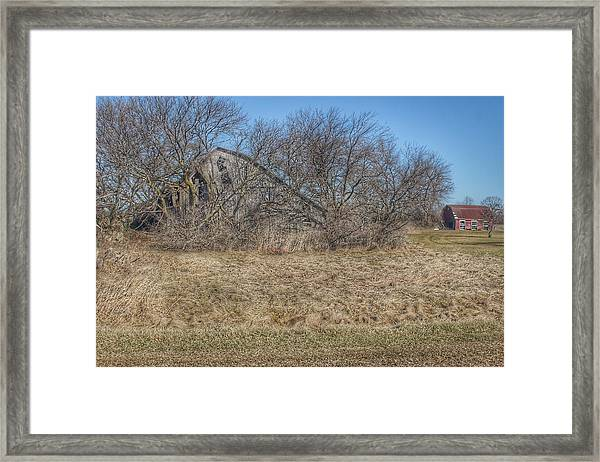 2303 - Fargo Road Forgotten Framed Print