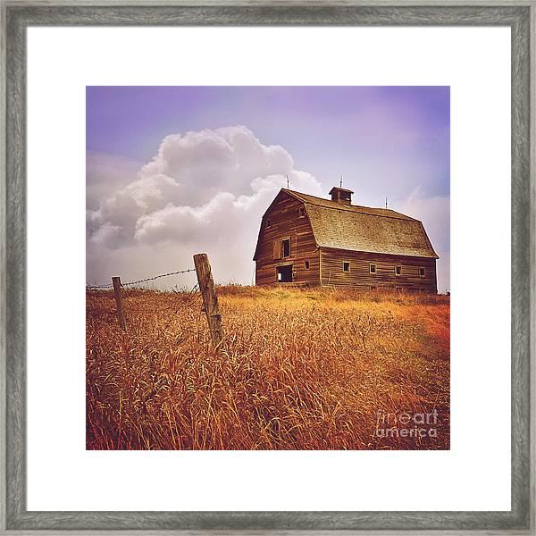 Farm Barn Framed Print