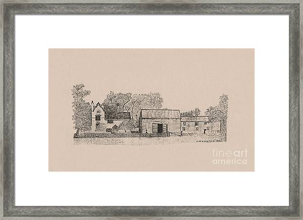 Farm Dwellings Framed Print