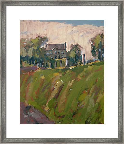 Farm Estate Zonneberg Framed Print