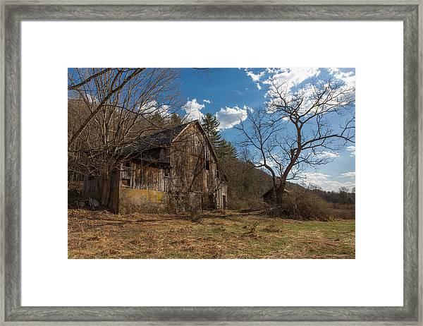 Farm Forgotten Framed Print