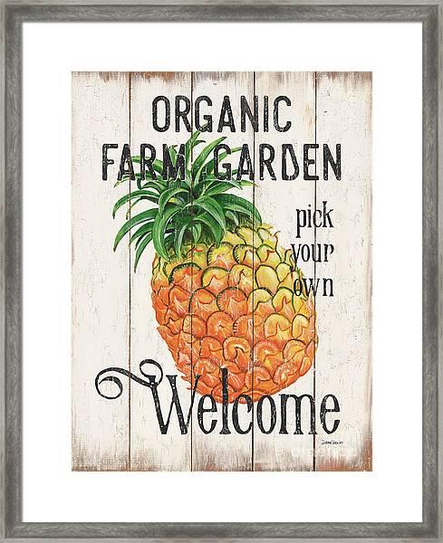 Farm Garden 1 Framed Print