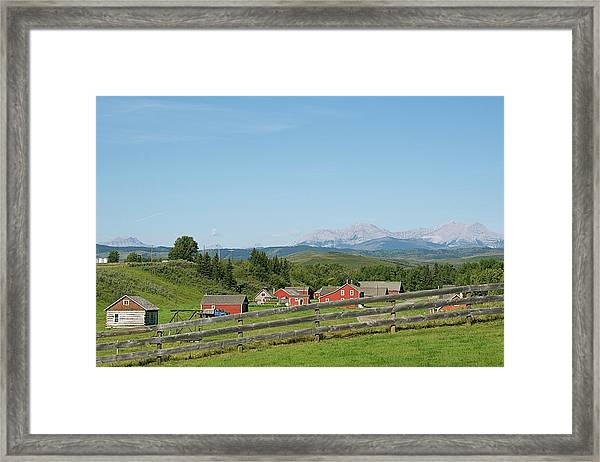 Farm Framed Print