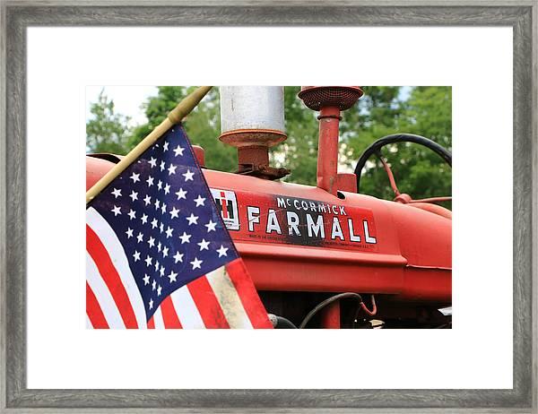 Farmall 2 Framed Print