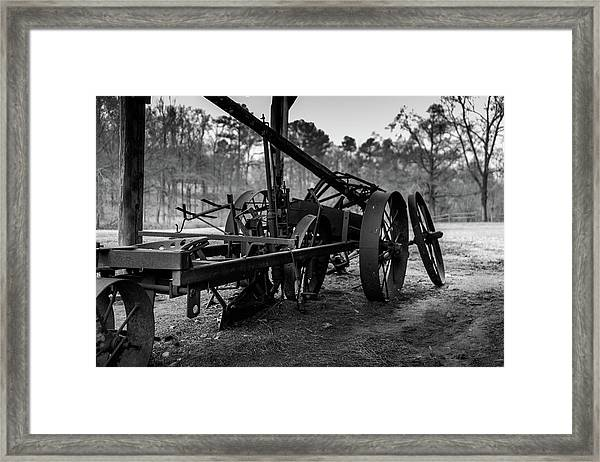 Farming Equipment Framed Print