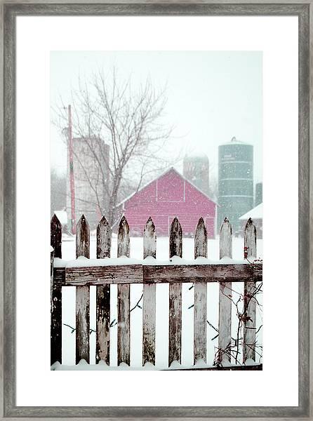 Farmline Christmas Framed Print