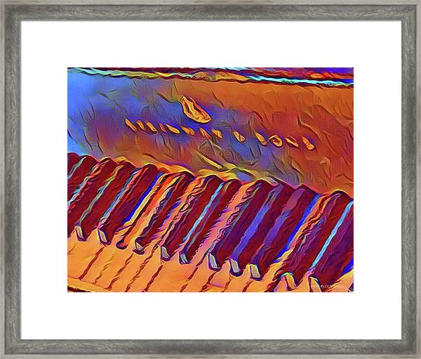 Fat Domino's Piano Framed Print