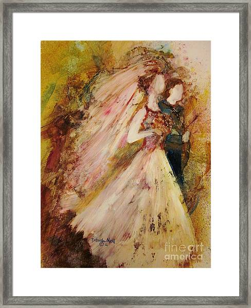 Father Of The Bride Framed Print