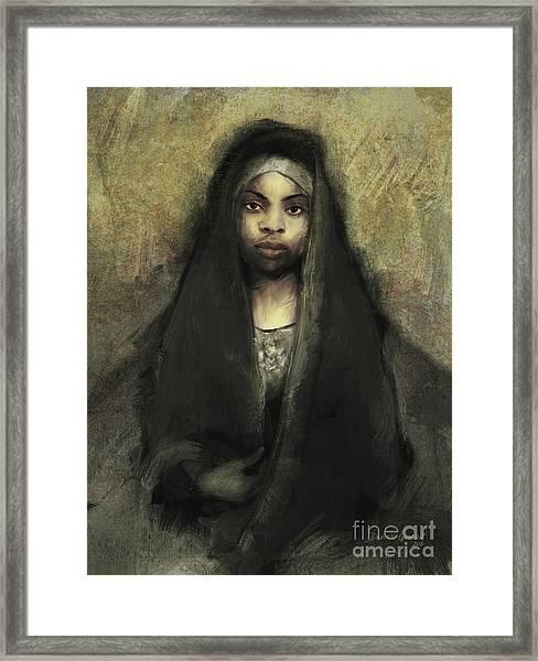 Fatima Framed Print