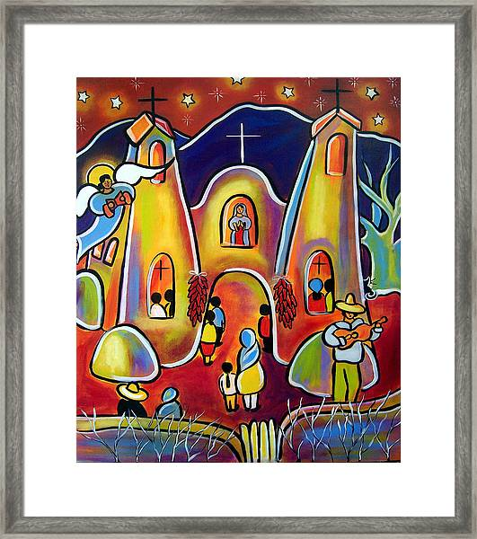 Feast Day Celebration Framed Print