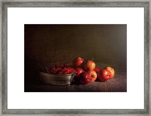 Feast Of Fruits Framed Print